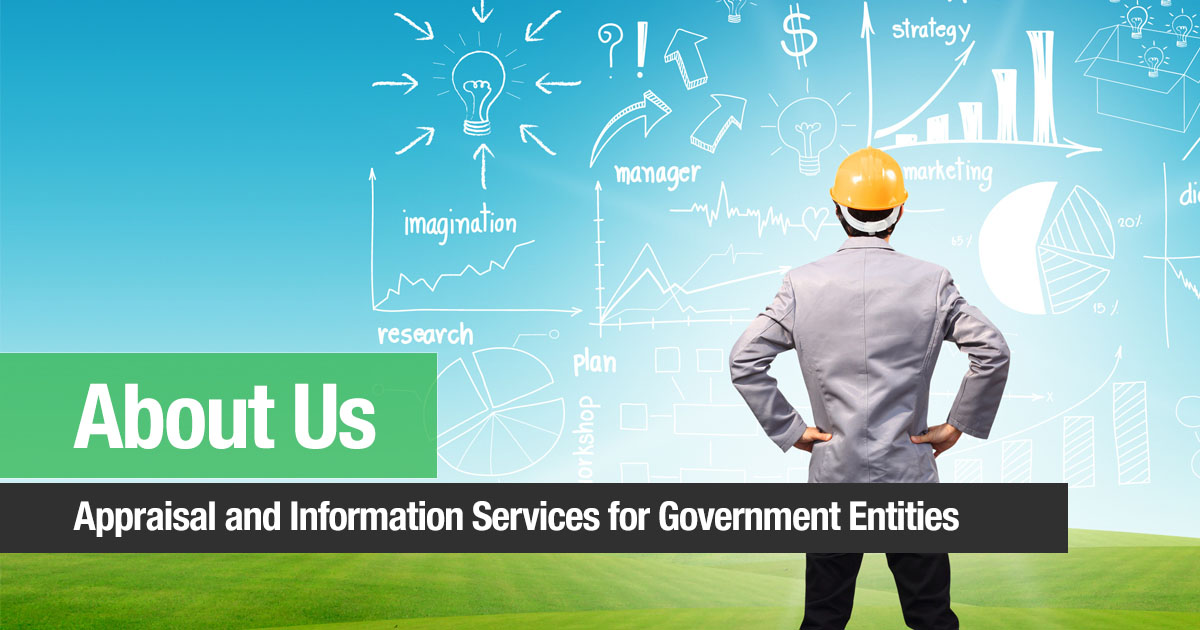 About Us - Appraisal and Information Services for Government Entities